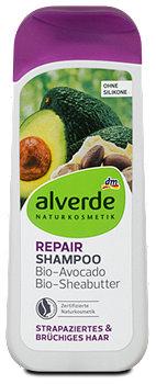 alverde Repair Shampoo Bio-Avocado Bio-Sheabutter