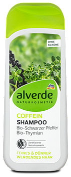 alverde Coffein-Shampoo Grüner Kaffee