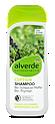 alverde Coffein Shampoo Bio-Schwarzer Pfeffer Bio-Thymian