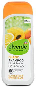 alverde Glanz-Shampoo Zitrone Aprikose