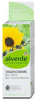 alverde Tagescreme Bio-Olive & Bio-Sonnenblume