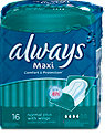 always Maxi Comfort&Protection Binden mit Flügel normal plus