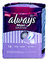 always Maxi Soft & Fresh Binden long super