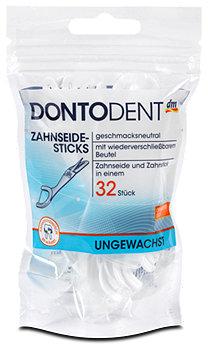 DONTODENT Zahnseide-Sticks ungewachst
