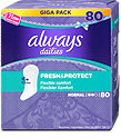 always dailies Slipeinlagen Fresh&Protect Normal Giga Pack
