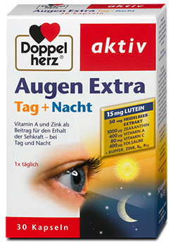 Doppelherz aktiv Augen Extra Tag + Nacht Kapseln