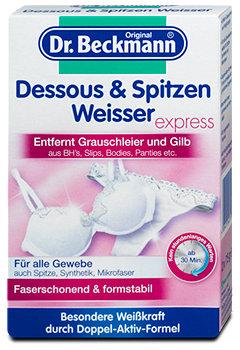 Dr. Beckmann Dessous & Spitzen Weisser express