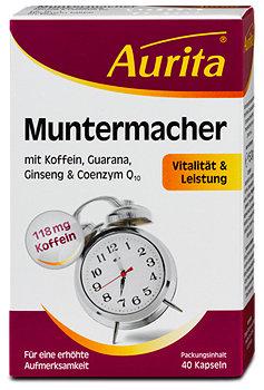 Aurita Muntermacher Vitalität & Leistung Kapseln