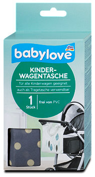 babylove Kinderwagentasche sort.