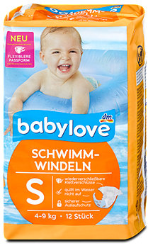 babylove Schwimm-Windeln 4-9 kg
