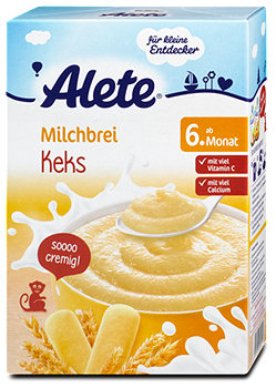 Alete Milchbrei Keks