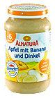 Alnatura Fruchtbrei Apfel mit Banane und Dinkel