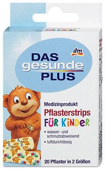 DAS gesunde PLUS Pflasterstrips für Kinder