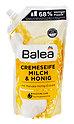 Balea Creme Seife Milch & Honig Nachfüllbeutel