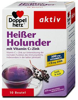 Doppelherz aktiv Heißer Holunder Pulver
