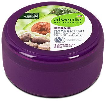 alverde Repair Haarbutter Bio-Avocado Bio-Sheabutter
