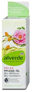 alverde Relax Pflege-Öl Bio-Wildrose Bio-Sanddorn