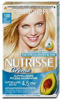 Garnier Nutrisse Creme Aufhellung