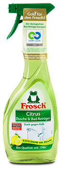 Frosch Citrus Dusche & Bad-Reiniger