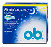 o.b. Flexia Tag + Nacht Tampons Normal