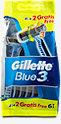 Gillette Blue3 Einwegrasierer Smooth