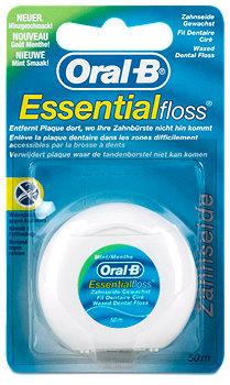 Oral-B Essentialfloss Zahnseide gewachst Minze