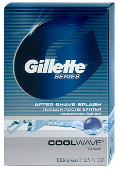 Gillette Series After Shave Splash Cool Wave