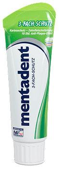 mentadent 3-Fach-Schutz Zahncreme