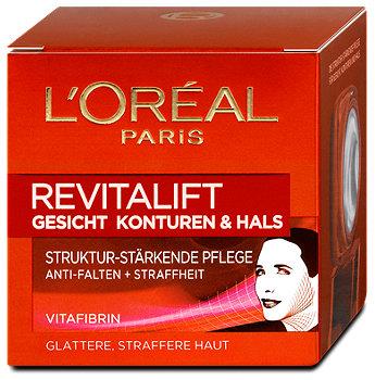 L'Oréal Paris Revitalift Gesicht, Konturen & Hals Pflege