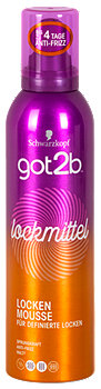 got2b lockmittel locken Mousse Schaumfestiger