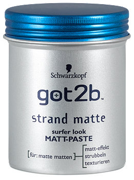 got2b strand matte surfer look Matt-Paste Haarwachs