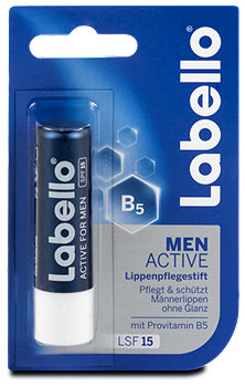 Labello Lippenpflegestift Men Active