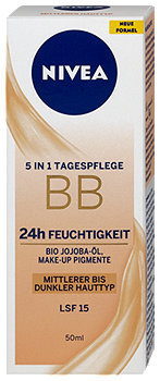 Nivea BB Cream 5in1 Blemish Balm Mittel bis dunkel