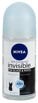 Nivea invisible For Black & White Pure Deo Roll-on