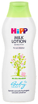 Hipp Babysanft Milk Lotion Sensitiv