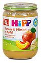 Hipp Fruchtbrei Banane und Pfirsich in Apfel