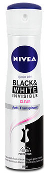 Nivea invisible For Black & White Clear Deospray