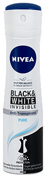 Nivea invisible For Black & White Pure Deodorant