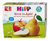 Hipp Fruchtbrei Frucht-Pause Birne in Apfel fein püriert