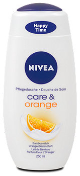 Nivea Pflegedusche care & orange