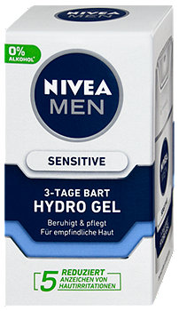 Nivea Men Sensitive 3-Tage Bart Hydro Gel