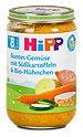 Hipp Buntes Gemüse mit Süßkartoffeln und Bio-Hühnchen