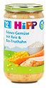 Hipp Feines Gemüse mit Reis und Bio-Truthahn