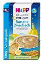 Hipp Bio-Milchbrei Gute Nacht Banane Zwieback