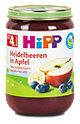 Hipp Fruchtbrei Heidelbeeren in Apfel