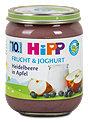 Hipp Dessert Frucht & Joghurt Heidelbeere in Apfel