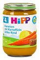 Hipp Menü Karotten mit Kartoffeln und Bio-Rind