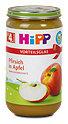 Hipp Fruchtbrei Pfirsich in Apfel