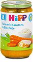 Hipp Menü Reis mit Karotten und Bio-Pute