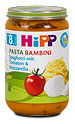 Hipp Menü Pasta Bambini Spaghetti mit Tomaten und Mozzarella